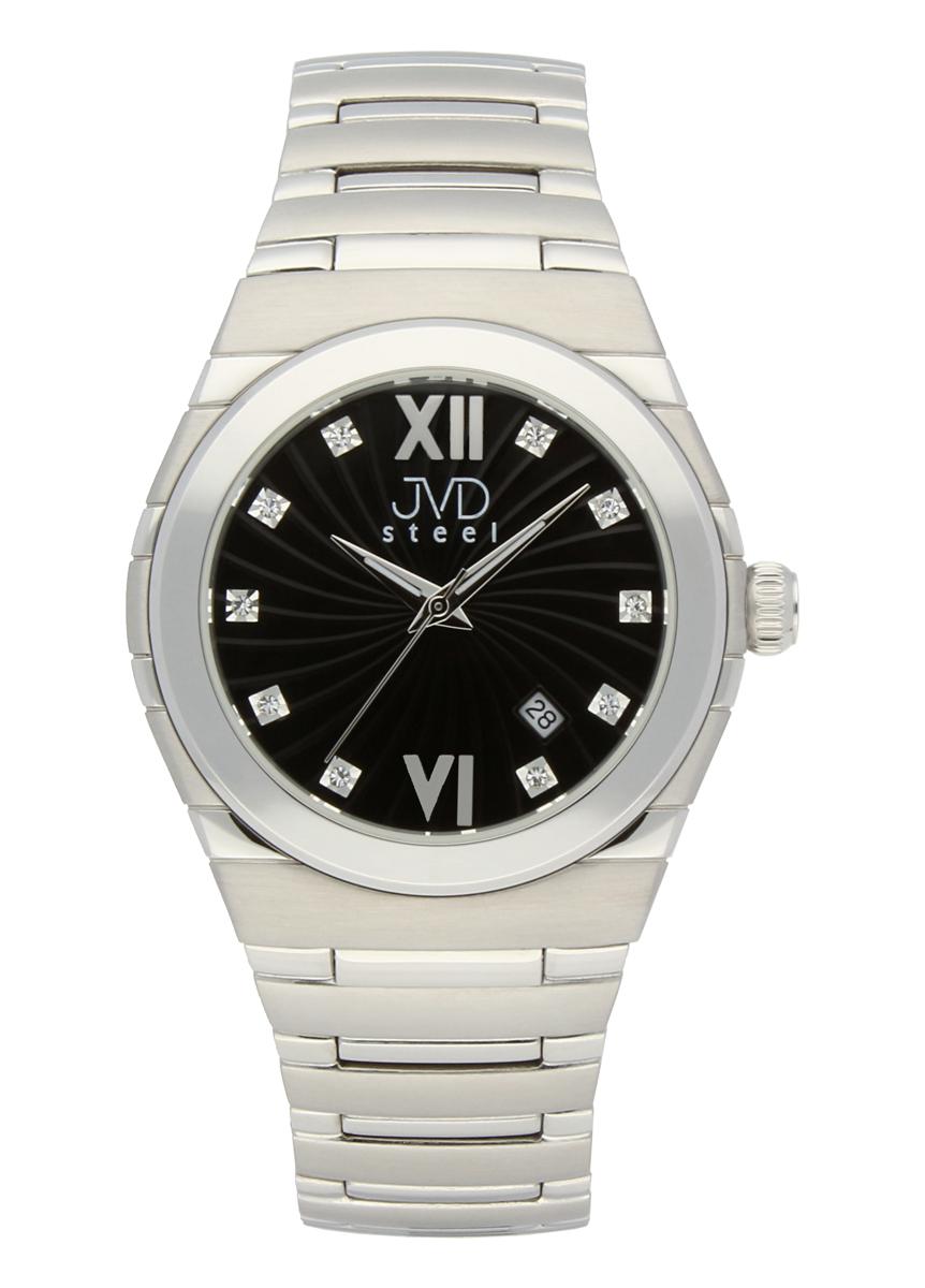 Ocelové pánské módní čitelné hodinky JVD C 1116.2 POŠTOVNÉ ZDARMA!!  (POŠTOVNÉ ZDARMA! 4a15a2445d
