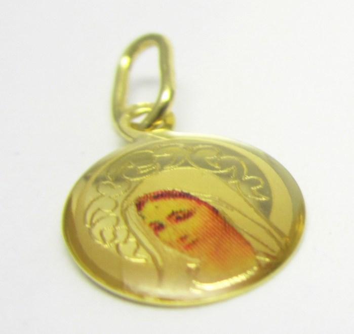 Zlatá madonka - zlatá madona přívěsek 585/0,57gr H659