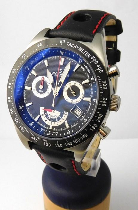 Luxusní pánské švýcarské hodinky Grovana 1622.9537 s antireflexním sklem POŠTOVNÉ ZDARMA!! (1622.9537)