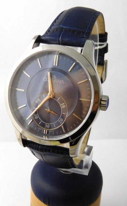 Pánské švýcarské luxusní hodinky Grovana 1202.1535 se safírovým sklem POŠTOVNÉ ZDARMA!! (1202.1535)