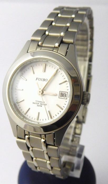 Dámské titanové antialergické kvalitní hodinky Foibos 3423T - 5ATM ... bd892dbc573