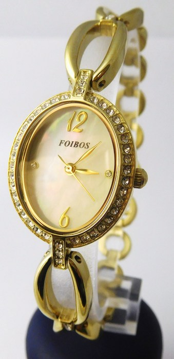 Dámské ocelové kvalitní hodinky Foibos 3B45 (šperkovné s kamínky) POŠTOVNÉ  ZDARMA!! ( 0352c86a7d