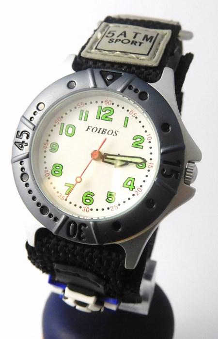 Chlapecké sportovní dětské hodinky Foibos 2589.1 pro malé fotbalisty - 5ATM ( )