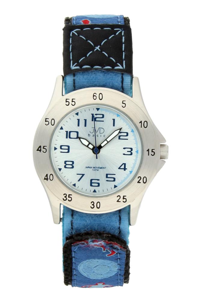 Chlapecké sportovní dětské levné hodinky JVD basic J7015.3