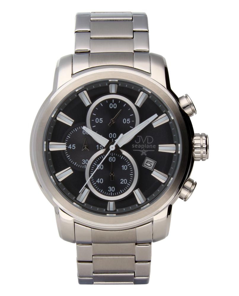 Moderní ocelové vodotěsné hodinky JVDW 34.1 s chronografem POŠTOVNÉ ZDARMA!! (POŠTOVNÉ ZDARMA!!!)