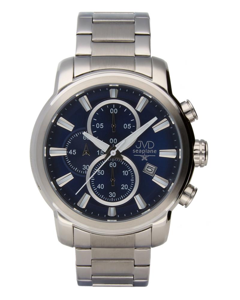 Moderní ocelové vodotěsné hodinky JVDW 34.2 s chronografem POŠTOVNÉ ZDARMA!! (POŠTOVNÉ ZDARMA!!!)