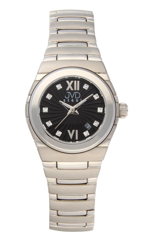 Dámské ocelové čitelné hodinky JVDC 1117.2 POŠTOVNÉ ZDARMA!! (POŠTOVNÉ ZDARMA!!!)
