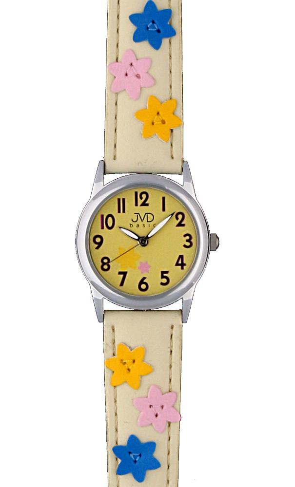 Dětské kožené hodinky JVD basic JVD W65.2