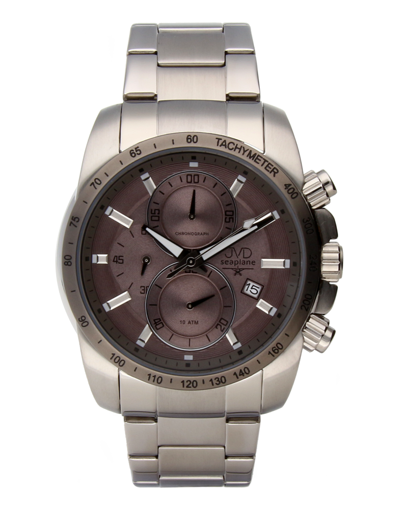 Mohutné ocelové pánské vodotěsné hodinky Seaplane JVD W35.2 POŠTOVNÉ ZDARMA!!