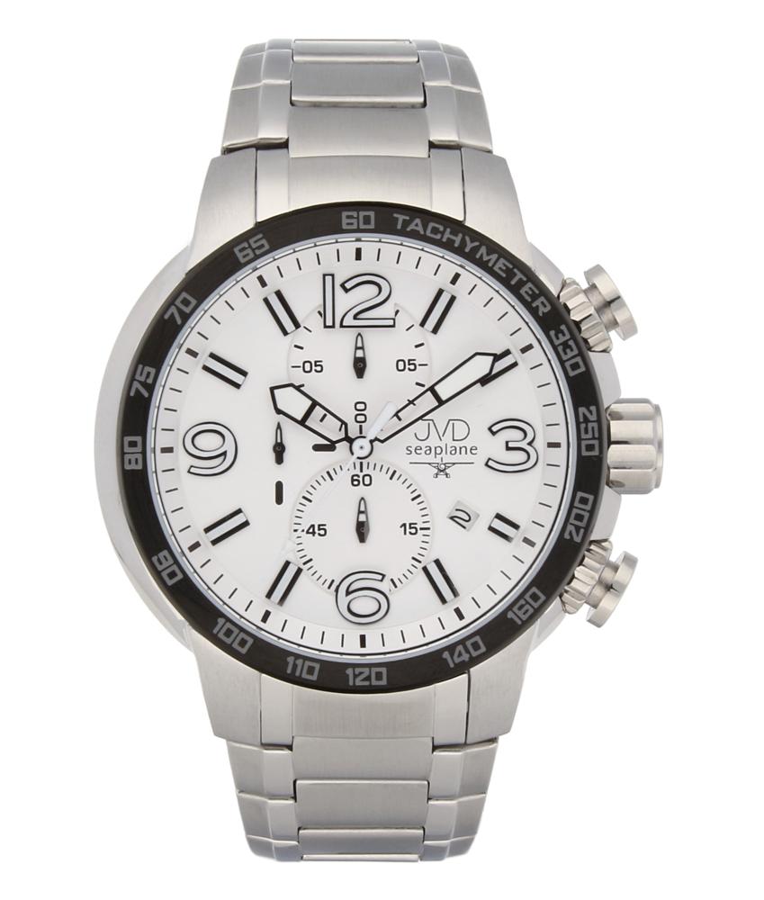 Vysoce odolené sportovné vodotěsné hodinky JVD seaplane W30.2 chronograf POŠTOVNÉ ZDARMA!!