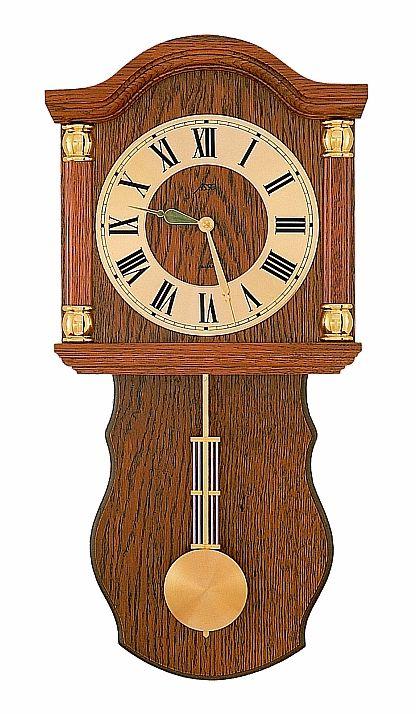Luxusní dřevěné kyvadlové nástěnné hodiny ASSO A17/236/4 POŠTOVNÉ ZDARMA!! (POŠTOVNÉ ZDARMA!!)