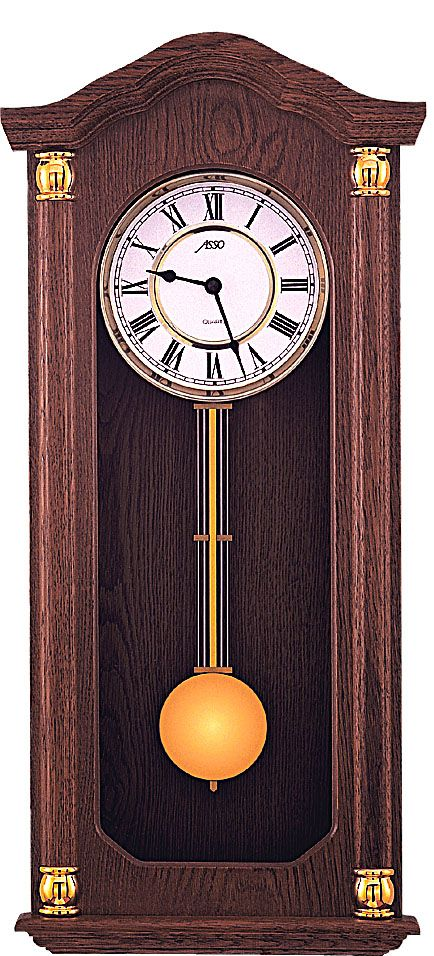 Luxusní kyvadlové dřevěné nástěnné hodiny ASSO A19/294/3 POŠTOVNÉ ZDARMA!! (POŠTOVNÉ ZDARMA!!)