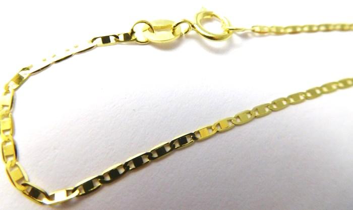 Zlatý řetízek žiletkový ze žlutého zlata 50cm 585/1,36gr H709 POŠTOVNÉ ZDARMA POŠTOVNÉ ZDARMA!!