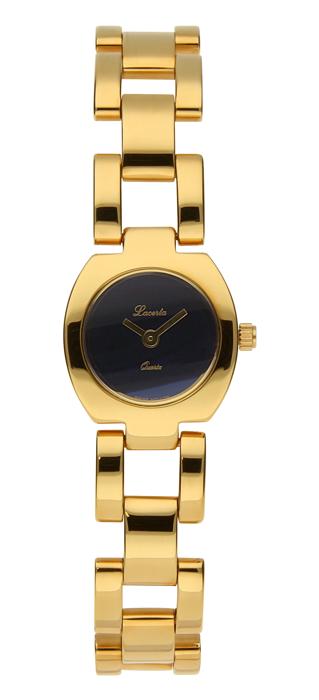 Dámské zlacené hodinky Lacerta 732 021 03