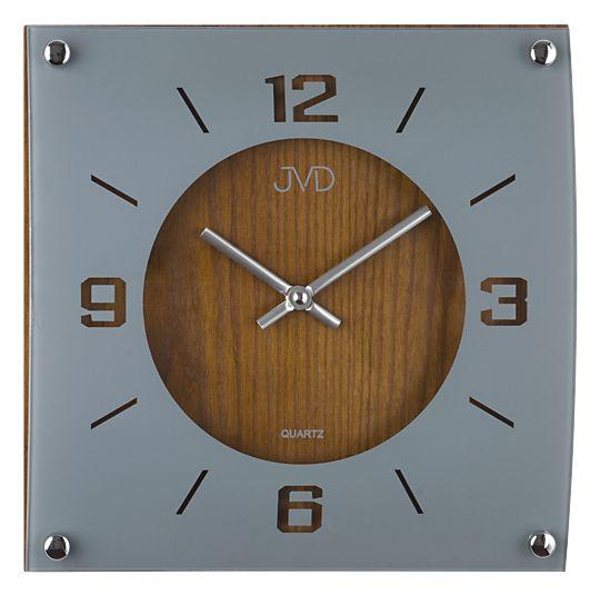 Dřevěné hodiny JVD N28012/11 na zeď