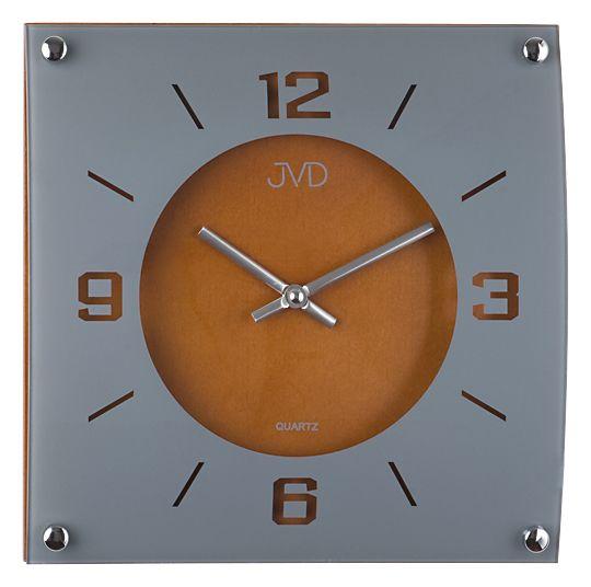 Dřevěné hodiny JVD N28012/41 na zeď