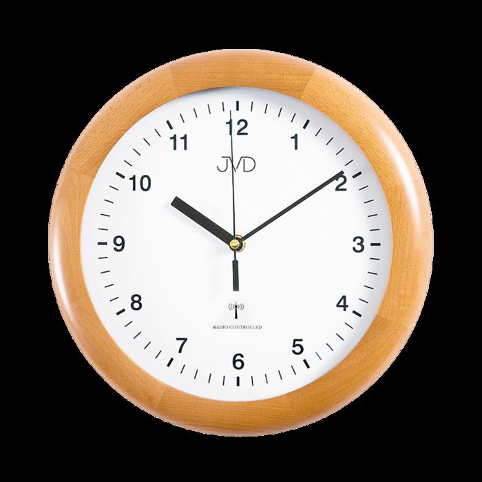 Rádiem řízené nástěnné hodiny JVD system RH2341/68