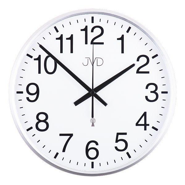 Rádiem řízené nástěnné hodiny JVD RH684.4