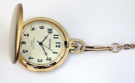 Zlacené kapesní hodinky Olympia 30428 POŠTOVNÉ ZDARMA!! (POŠTOVNÉ ZDARMA!!)