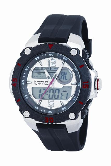 Vodotěsné sportovné digitální hodinky DUNLOP Dun-160-G01