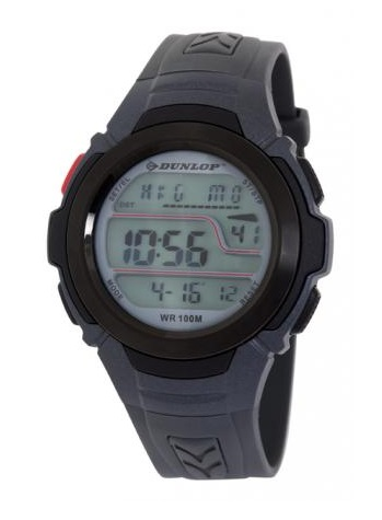 Vodotěsné sportovní digitální hodinky DUNLOP DUN-203-G08