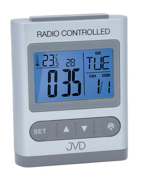 Digitální rádiem řízený budík JVD RB31.1