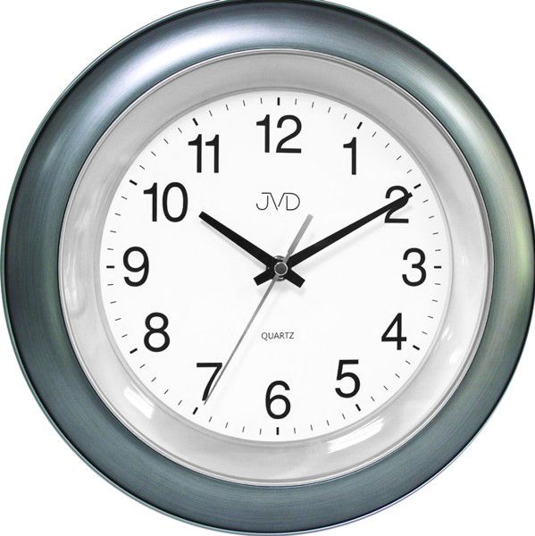 Modro-zelené nástěnné hodiny JVD TS13.2