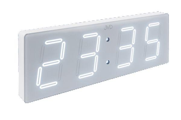 Velké svítící digitální moderní hodiny JVD DH1.4 (bílé LED číslice) (POŠTOVNÉ ZDARMA!!!)
