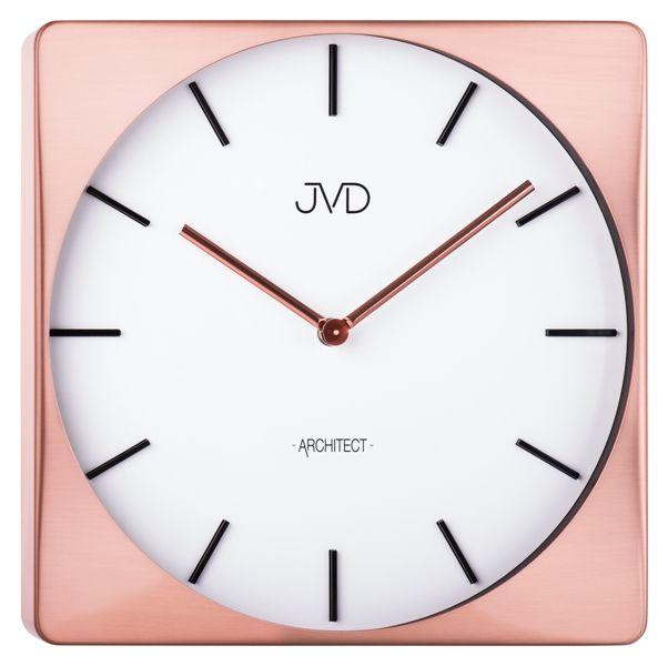 Designové kovové hodiny JVD -Architect- HC10.3 (POŠTOVNÉ ZDARMA!!)