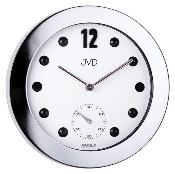 Designové kovové hodiny JVD -Architect- HC07.1 (POŠTOVNÉ ZDARMA!!)