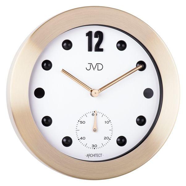 Designové kovové hodiny JVD -Architect- HC07.2 (POŠTOVNÉ ZDARMA!!)