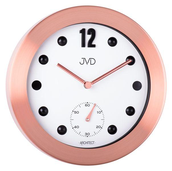 Designové kovové hodiny JVD -Architect- HC07.3 (POŠTOVNÉ ZDARMA!!)