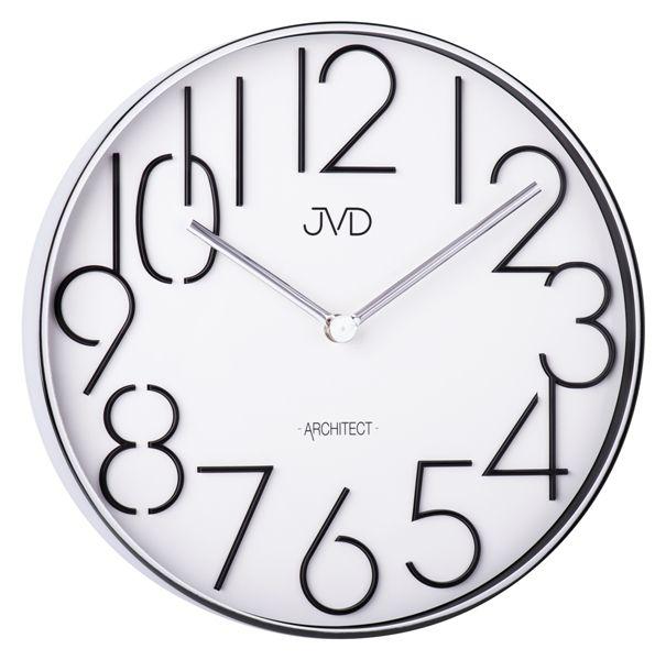 Designové kovové hodiny JVD -Architect- HC06.1 (POŠTOVNÉ ZDARMA!!)