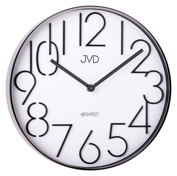 Designové kovové hodiny JVD -Architect- HC06.2 (POŠTOVNÉ ZDARMA!!)