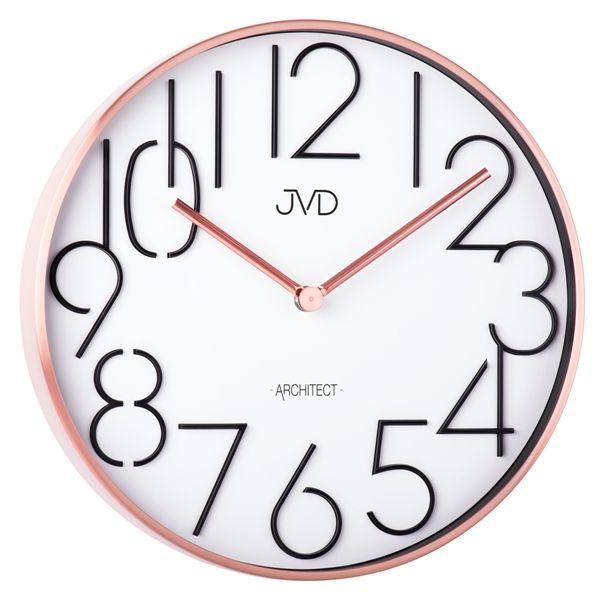 Designové kovové hodiny JVD -Architect- HC06.3 (POŠTOVNÉ ZDARMA!!)