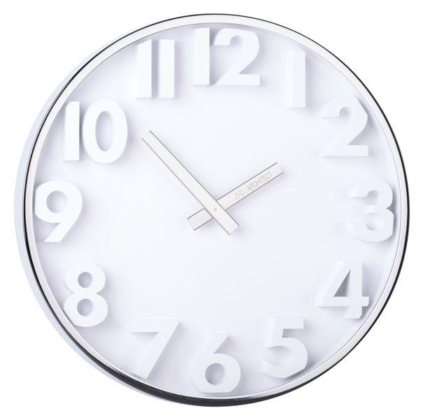 Designové kovové hodiny JVD -Architect- HC03.1 (POŠTOVNÉ ZDARMA!!)