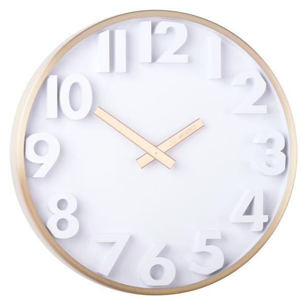 Designové kovové hodiny JVD -Architect- HC03.3 (POŠTOVNÉ ZDARMA!!)