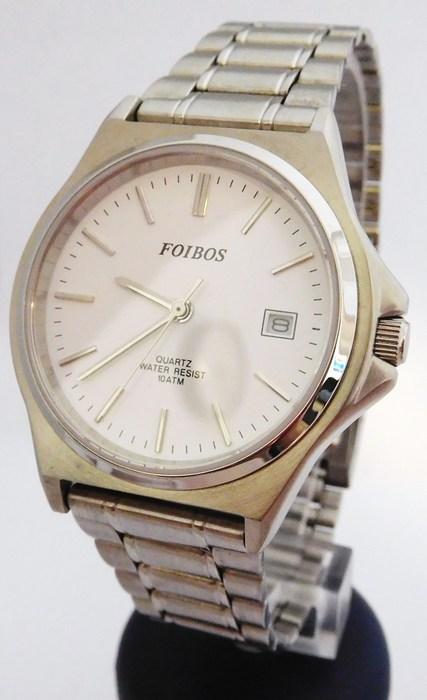 Pánské čitelné vodotěsné hodinky Foibos 4971 - 10ATM (POŠTOVNÉ ZDARMA!!!!)