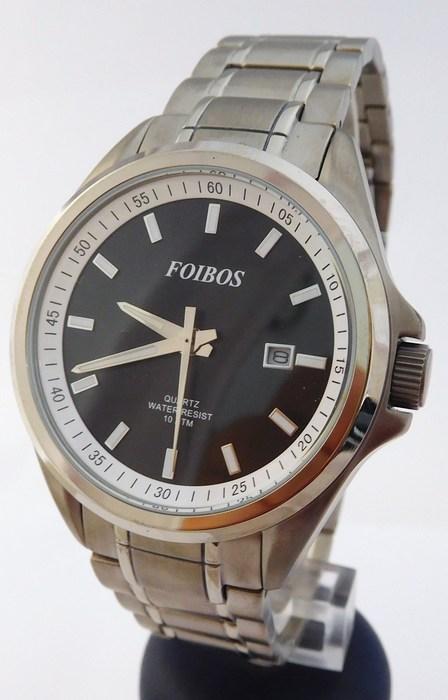 Pánské celotitanové antialergické vodotěsné hodinky Foibos 25501 (POŠTOVNÉ ZDARMA!!!! - odlehčené hodinky)