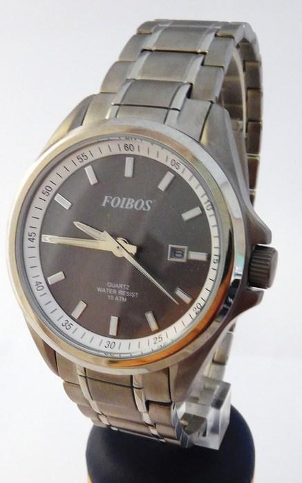 Pánské celotitanové antialergické vodotěsné hodinky Foibos 25502 (POŠTOVNÉ ZDARMA!!!! - odlehčené hodinky)