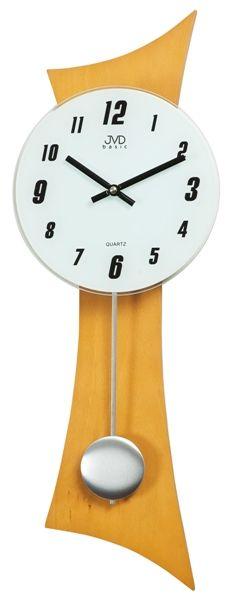 Nástěnné kyvadlové hodiny N27004/68 - POŠTOVNÉ ZADÁČO (POŠTOVNÉ ZDARMA!! - světlé dřevo)