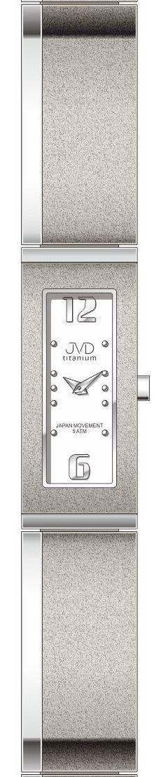 Dámské luxusní titanové antialergické hodinky J5020.1 (POŠTOVNÉ ZDARMA!!) 2de4762951