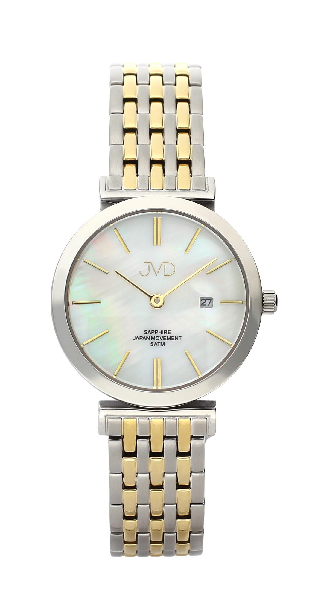 Dámské čitelné náramkové hodinky se safírovým sklem JVD J4150.2 (POŠTOVNÉ ZDARMA!!)