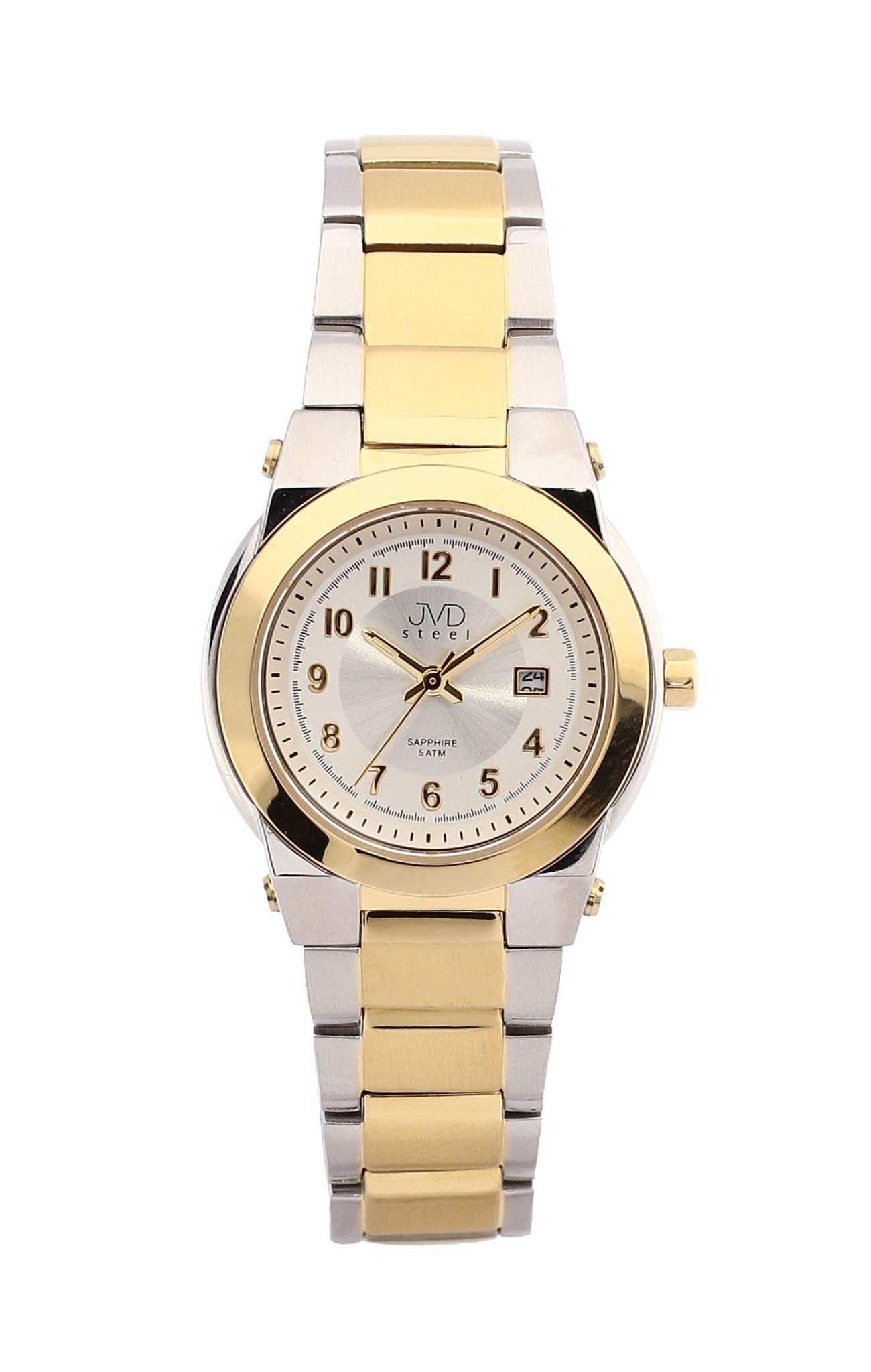 Dámské čitelné náramkové hodinky se safírovým sklem JVD J4124.2 (POŠTOVNÉ ZDARMA!!)