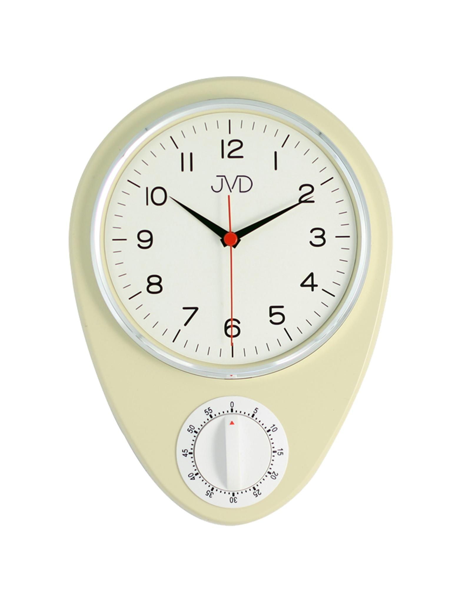 """Klasické """"retro"""" hodiny s mechanickou minutkou JVD HO365.2"""