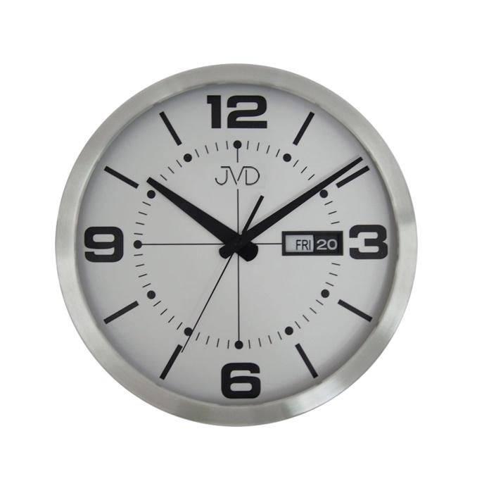 Kovové stylové hodiny JVD HO255.2 s datumovkou
