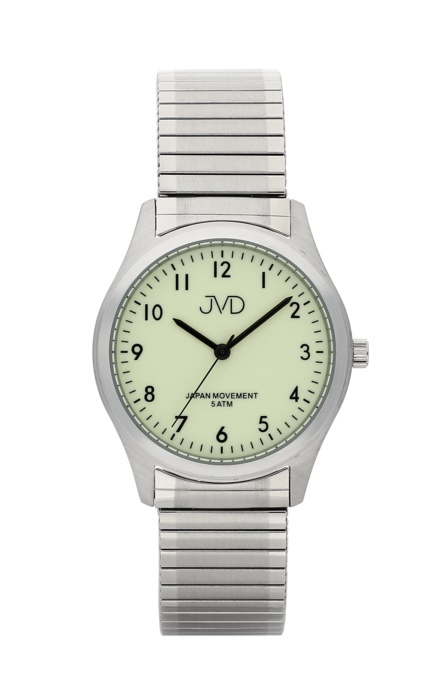 Dámské ocelové náramkové hodinky JVD J1111.2 na pérovém pásku (POŠTOVNÉ ZDARMA!!)