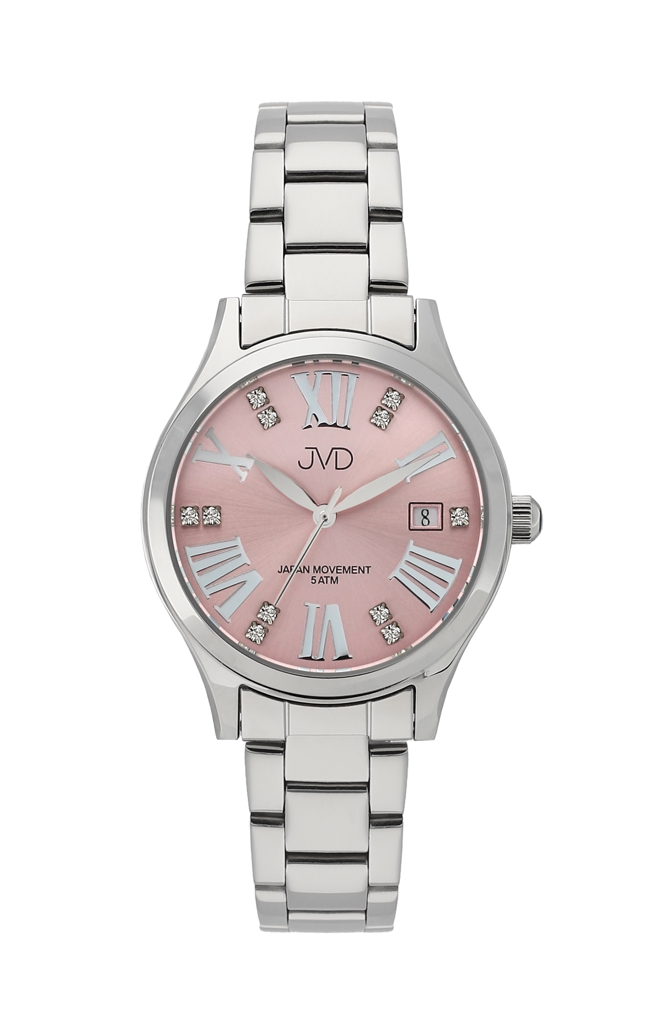 Dámské luxusní ocelové náramkové hodinky JVD J4158.2 (POŠTOVNÉ ZDARMA!!)