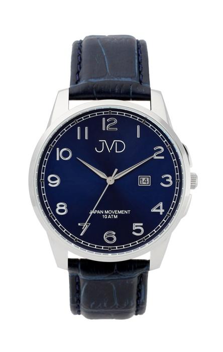 Pánské luxusní vodotěsné náramkové hodinky JVD J1112.2 na koženém pásku (POŠTOVNÉ ZDARMA!!)