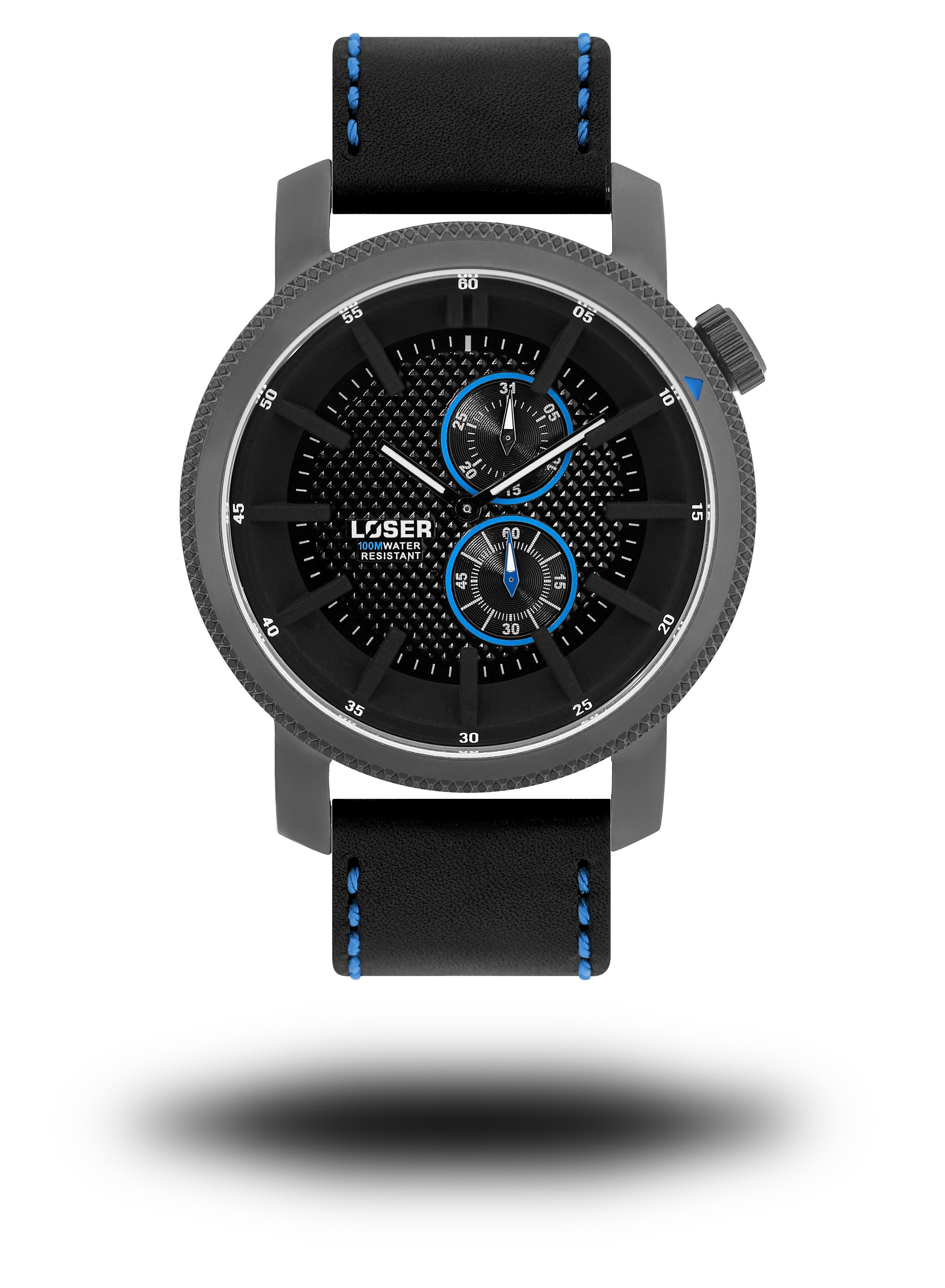 Luxusní nadčasové sportovní vodotěsné hodinky LOSER Infinity OCEAN (POŠTOVNÉ ZDARMA!! - modré)